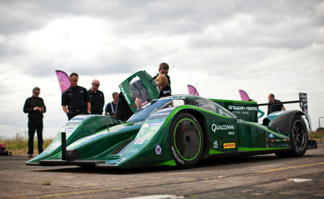 The Drayson Racing FIA World Land Speed Record