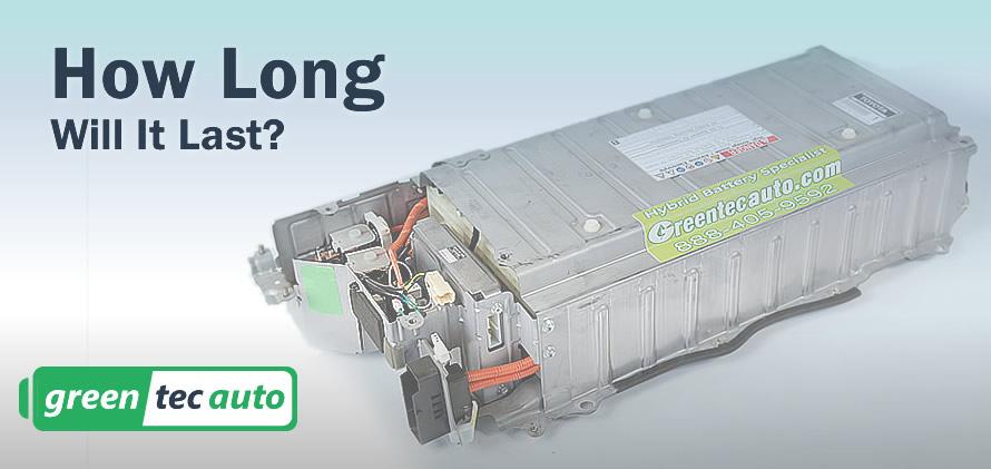 Battery life for hybrid cars work
