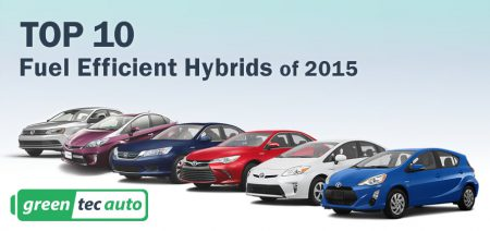 TOP 10 Most Fuel Efficient Hybrid Cars of 2015