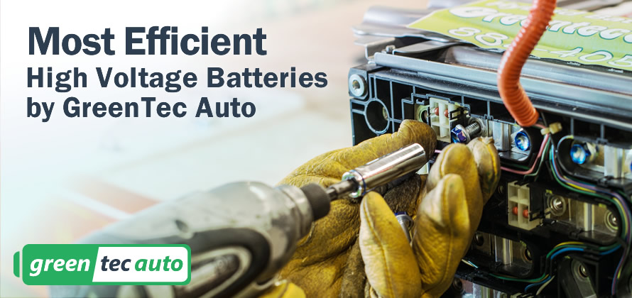 High Voltage Batteries