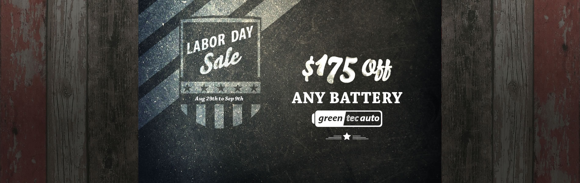 Labor Day Special Sale. Get your Coupon code
