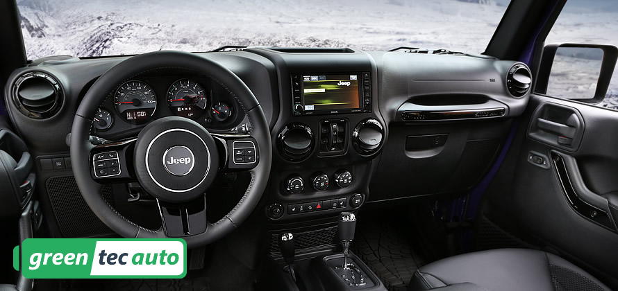 Jeep Wrangler 2015 Interior Photo