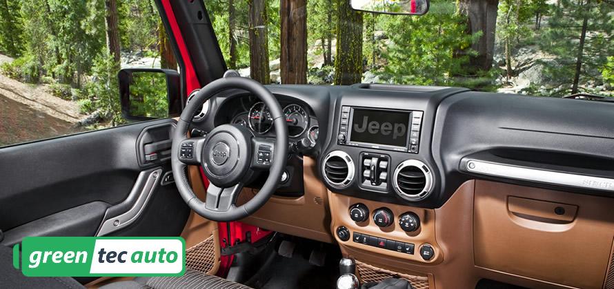 Jeep Wrangler Diesel Interior