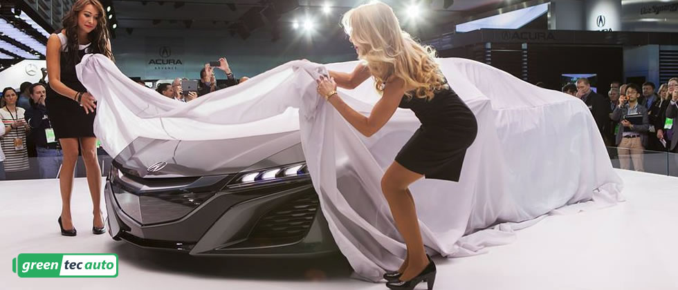 unveiling of the 2017 Acura NSX
