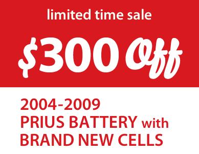 Prius Battery Sale