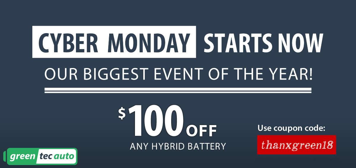 Cyber Week Deals Hybrid batteries
