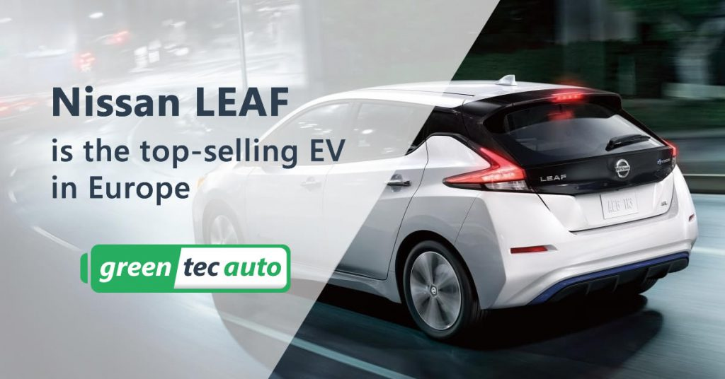 Nissan Leaf top selling EV