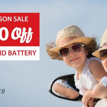 Tax Season Sale 2019 on Hybrid Batteries