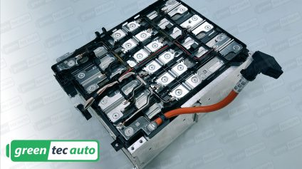 BMW i3 Lithium Ion Battery Dissambly